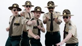 The Cast of Super Troopers Roast Each Other