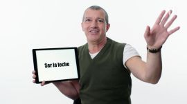 Antonio Banderas Teaches You Spanish Slang
