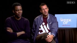 Adam Sandler and Chris Rock on Father of the Bride Do's and Don'ts