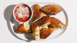 Easy Vegetarian Calzones