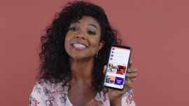 Gabrielle Union Shows Us the Last Thing on Her Phone