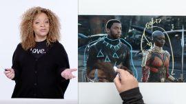 Black Panther's Costume Designer Breaks Down T'Challa's Entrance Scene
