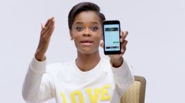 Black Panther's Letitia Wright Shows Us the Last Thing on Her Phone