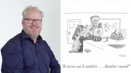 How to Write a New Yorker Cartoon Caption: Jim Gaffigan Edition