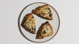 Easy Blueberry Cream Scones