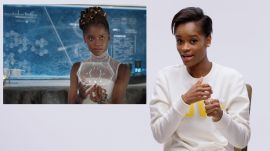Black Panther's Letitia Wright Breaks Down Wakandan Technology