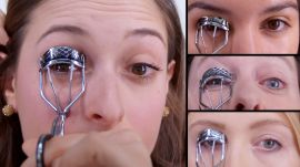 50 Women Try Applying False Lashes