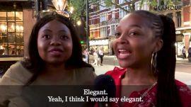 Londoners Describe Meghan Markle in One Word