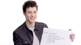 Shawn Mendes Answers the Web's Most Searched Questions