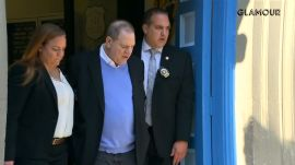 Harvey Weinstein Exits NYPD In Handcuffs