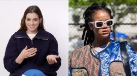 Anne Hathaway Discusses Singing Rihanna Songs on Set of Ocean's 8
