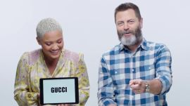 Nick Offerman and Kiersey Clemons Teach You Millennial Slang