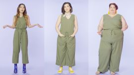 Women Sizes 0 Through 28 Try on the Same Jumpsuit