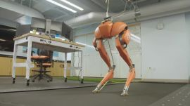 How to Get Robots to Walk (and Jump and Run) Among Us