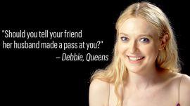 Dakota Fanning Gives Life Advice