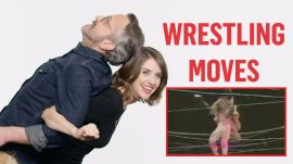 Alison Brie & GLOW Cast Classic Wrestling Moves