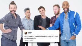 Queer Eye Cast Compete in a Compliment Battle