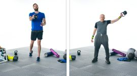 60 People Try A Kettlebell Swing