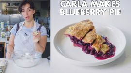 Carla Makes Blueberry-Ginger Pie