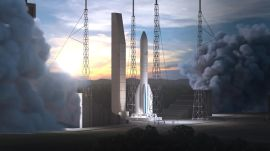 Launch of Ariane 6 Rocket and Deployment of Multiple Satellites