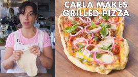 Carla Makes Grilled Pizza