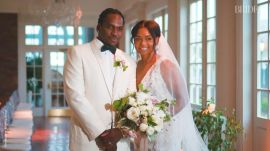 Brides real weddings video series pusha t and virginia williams star studded wedding junglespirit Image collections