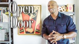 Terry Crews Gives Us a Tour of His LA Man Cave | Open Door