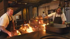 How a Wood-Burning Hearth Powers One of the Country's Best New Restaurants