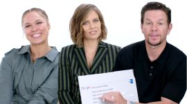 Mark Wahlberg, Ronda Rousey and Lauren Cohan Answer the Web's Most Searched Questions