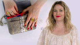 Drew Barrymore Shows Us What's In Her Bag