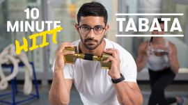 10-Minute Dumbbell Tabata Workout