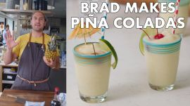 Brad Makes BA's Best Piña Coladas