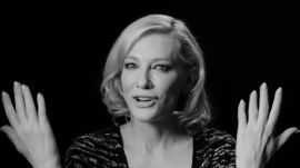 Cate Blanchett On Being a Disruptive Influence and Why She Hasn't Directed a Movie Yet