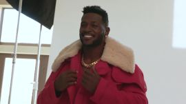 Go Behind the Scenes with Antonio Brown for his GQ Photo Shoot