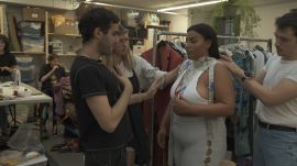Friends, Fashion, and A Bit of Magic: The Making Of Eckhaus Latta's Spring 2019 Show