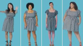Women Sizes 0 Through 26 Try On the Same Short Dress