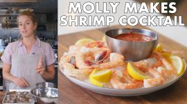 Molly Makes Classic Shrimp Cocktail