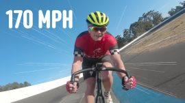 How This Woman Plans to Become the Fastest Person on a Bike