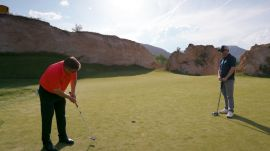 The Ultimate Golf Experience Starts With a Great Swing and Ends With... Dinosaur Fossils