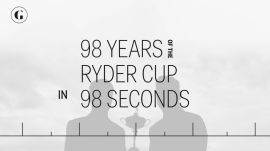98 Years of the Ryder Cup in 98 Seconds