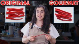 Pastry Chef Attempts To Make Gourmet Twizzlers
