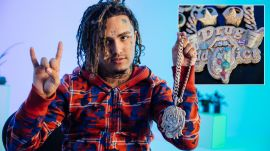 Lil Pump's Jewelry Was Inspired by 'The Boondocks'