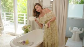 Miranda Kerr's Luxurious Bathroom Tour