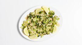 Roasted Broccoli with Tahini Sauce