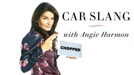 Angie Harmon Teaches You Car Slang