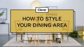 How To Style Your Dining Area