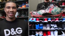 Jayson Tatum's Rare Sneaker Collection