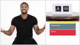 Everything Michael B. Jordan Does in a Day