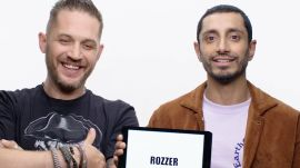 Tom Hardy and Riz Ahmed Teach You British Slang