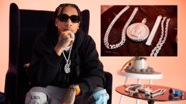 Tyga Shows Off His $250,000 Chain